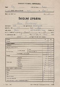Školní vysvědčení_Žižkov_Pirnerová Alena_Praha_817