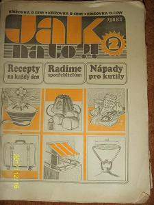 """STARÝ VÝTISK ,,JAK NA TO""""ročník 3 číslo 2 z roku 1994"""