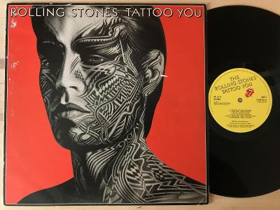 THE ROLLING STONES Tatoo you UK 1PRESS VG 1981