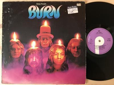 DEEP PURPLE Burn UK 1PRESS VG+ 1974