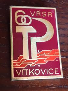 Odznak VŘSR VÍTKOVICE 60 let