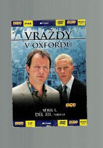 DVD - VRAŽDY V OXFORDU SERIE 1 DÍL 3