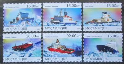 Mosambik 2013 Ledoborce, lodě Mi# 6483-88 Kat 10€ 2425