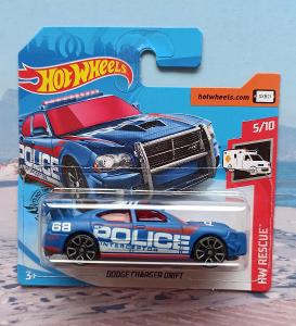 Dodge Charger Drift Police Interceptor HotWheels