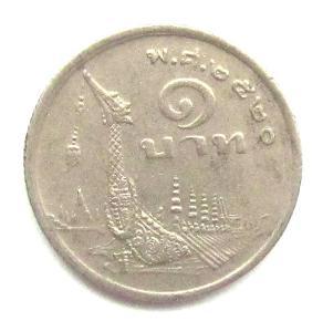 Thajsko 1 baht 1977