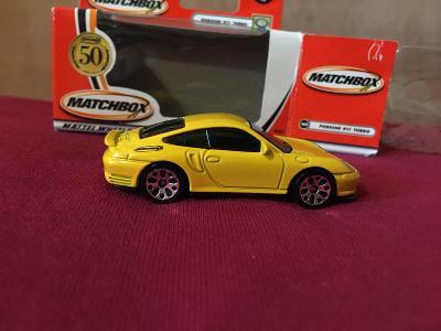 PORSCHE 911 TURBO MATCHBOX