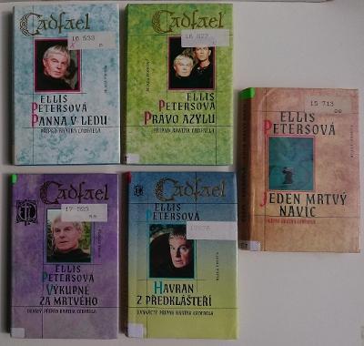 Ellis PETERSOVÁ, 5 knih CADFAEL