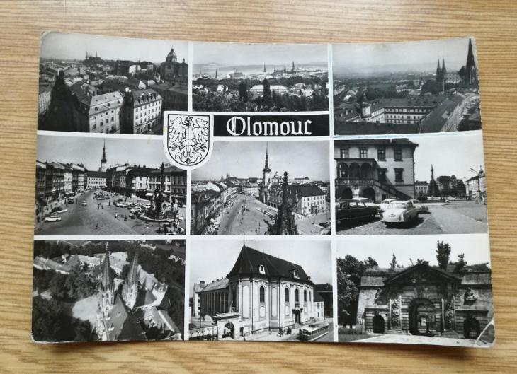 Pohled  Olomouc - Pohlednice