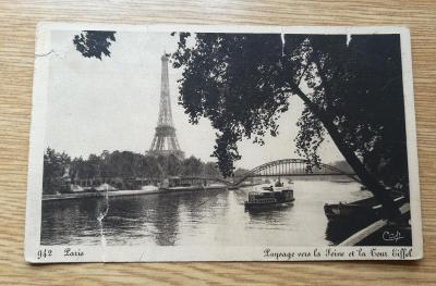 Pohled  Paříž