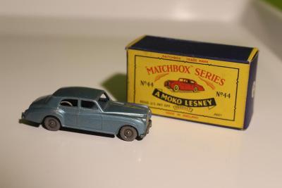 Matchbox RW - Rolls - Silver Cloud No.44