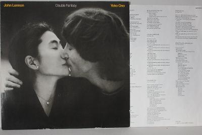 John Lennon / Yoko Ono – Double Fantasy LP 1981 vinyl ex Beatles NM