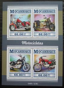 Mosambik 2015 Motocykly Mi# 8059-62 Kat 15€ 2430