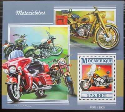 Mosambik 2015 Motocykly Mi# Block 1052 Kat 10€ 2430