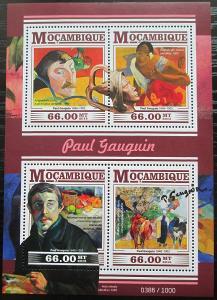 Mosambik 2015 Umění, Paul Gauguin Mi# 8209-12 Kat 15€ 2431