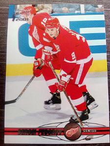 Sergei Fedorov, Detroit Red Wings, #147, Pacific 2000/01