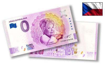 CZ024 ● Euro Souvenir ● JIŘINA BOHDALOVÁ [2021]