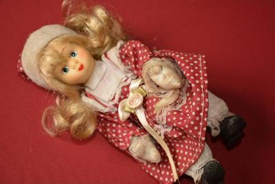 panenka, porcelánová hlava