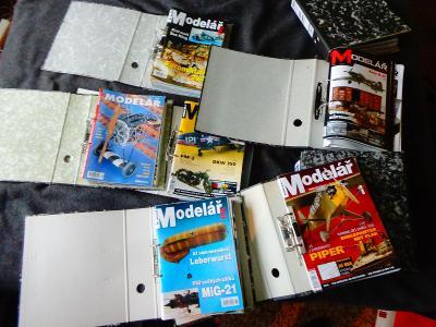Modelářský časopis Modelář, ročníky 2002 -  2012