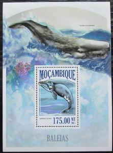 Mosambik 2013 Velryby Mi# Block 805 Kat 10€ 2437