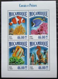 Mosambik 2013 Ryby a korály Mi# 6952-55 Kat 11€ 2437