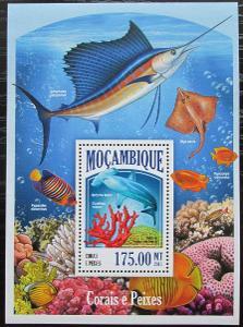Mosambik 2013 Ryby a korály Mi# Block 830 Kat 10€ 2437