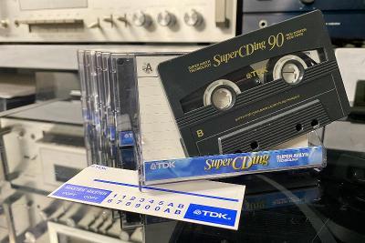 Magnetofonová kazeta TDK Super CDing 90