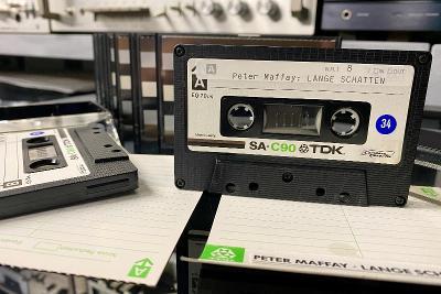 Magnetofonová kazeta TDK SA-C90 (r.1975-77)