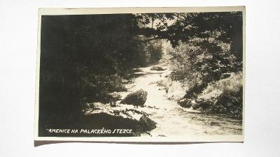 Kamenice na Palackého stezce
