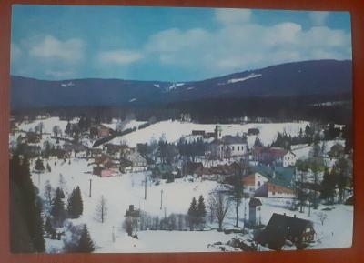 KRKONOŠE - Harrachov - stará historická pohlednice