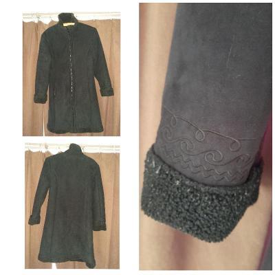 Pěkný přechodový kabát zn. C&A vel. 36