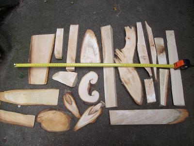 lipové dřevo, lípa pro řezbáře, pro zábavu,vyřezávání pro zahnání nudy