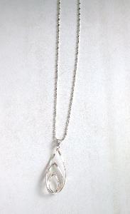 Krásný náhrdelník, přívěsek stříbro Ag 925