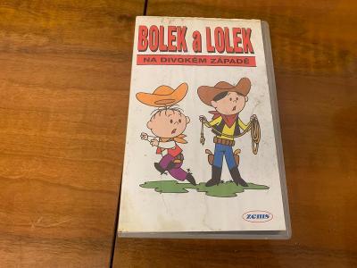 VHS, Bolek a Lolek na divokém západě