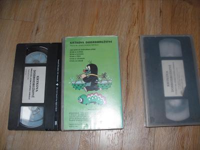 Krteček VHS 2 a 4 díl