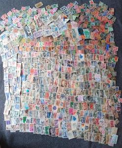 Každá jiná - poštovní známky Francie 720ks