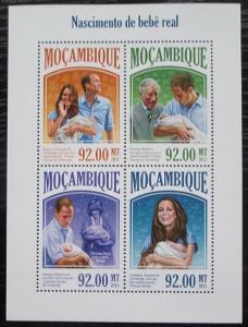 Mosambik 2013 Narození prince George Mi# 6937-40 Kat 22€ 2438