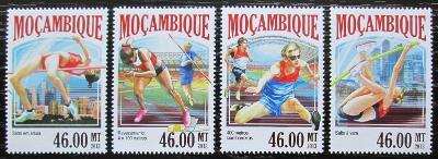 Mosambik 2013 MS v lehké atletice Mi# 7077-80 Kat 11€ 2439
