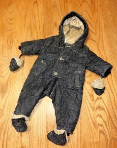 dětská zimní kombinéza vel 68