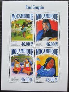 Mosambik 2013 Umění, Paul Gauguin Mi# 7017-20 Kat 11€ 2439