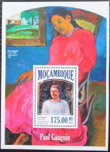 Mosambik 2013 Umění, Paul Gauguin Mi# Block 843 Kat 10€ 2440
