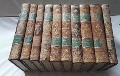 krásné / mezi roku 1812-1817 / různé svazky /ex libris Baron Lowenthal