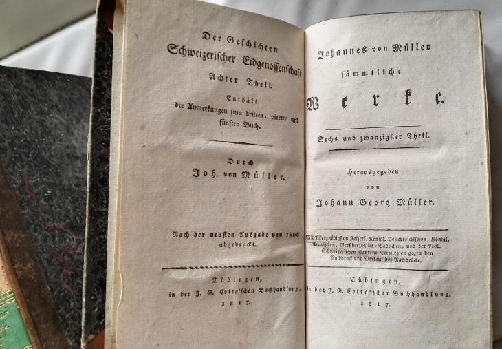 krásné / mezi roku 1812-1817 / různé svazky /ex libris Baron Lowenthal - Antikvariát