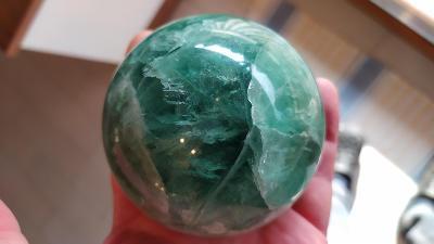 Fluorit velká koule - 80mm