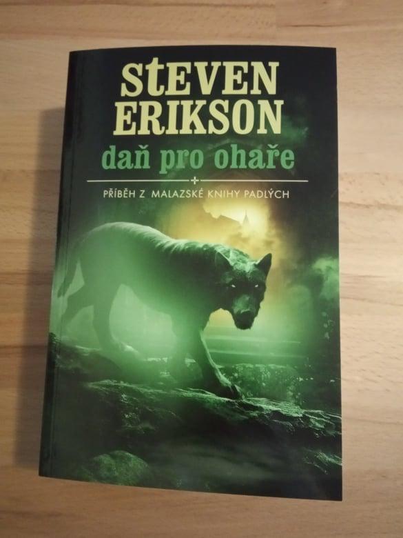 Malazská kniha mrtvých 8. - Daň pro ohaře, Steven Erikson - Knihy