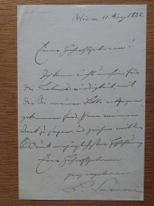BARTHOLOMÄUS CARNERI 1821 - 1909 SPISOVATEL FILOSOF POLITIK
