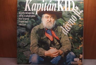 Kapitán Kid - Dávno již - LP deska - 1993