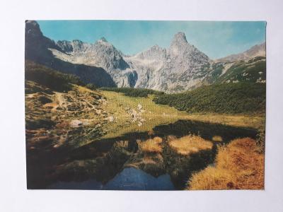 Tatranský národný park - Pohlad z Čierneho plesa - pohled. VF