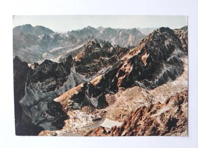 Tatranský národný park - Pohlad z Lomnického štítu - pohled. VF