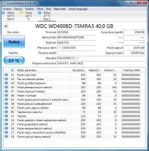 Western Digital Caviar WD400BD 40GB SATA