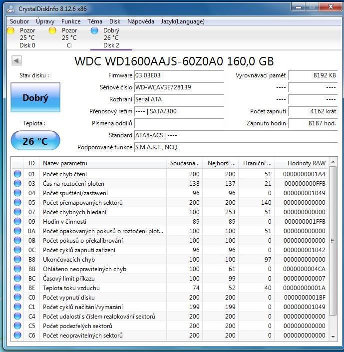 Western Digital WD1600AAJS 160GB SATA - PC komponenty